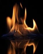 Arde en el fuego y...