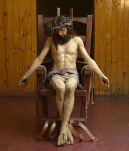 Jesucristo en la silla electrica, por Paul Fryer