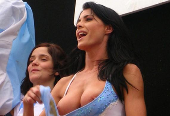 Pamela David se destapa por Argentina